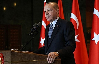 Erdoğan Macaristan'dan dönüşünde gazetecilere açıklama yaptı