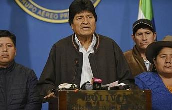 Evo Morales Meksika'nın iltica teklifini kabul etti
