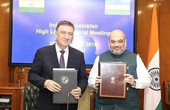 Hindistan ile Özbekistan arasında güvenlik iş birliği anlaşması