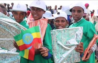 İHH Etiyopya'daki yetimlerin yüzünü güldürdü