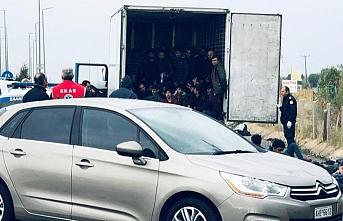 İkinci kamyon vakası.. Soğutucu kamyon içinde 41 göçmen