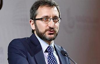 İletişim Başkanı Altun, başörtülülere yönelik saldırıları İngilizce kınadı