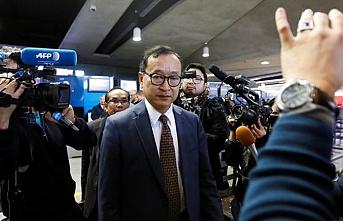 Kamboçyalı muhalif lider Paris'te uçağa alınmadı