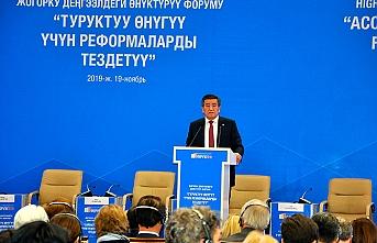 Kırgızistan reformları hızlandırmak için destek arıyor