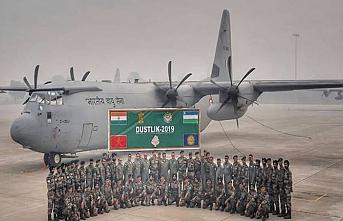 Özbekistan-Hindistan ortak askeri tatbikatı başladı