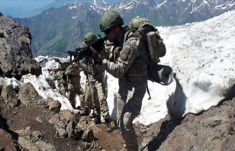 Pençe operasyonlarında 163 terörist etkisiz hale getirildi