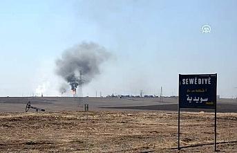PKK koruyor ABD askeri petrol devriyesi yapıyor