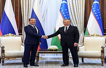 Şanghay İşbirliği Örgütü ülkeleri başkanları Özbekistan'da