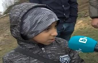 Suriyeli mülteci çocuk, biriktirdiği harçlıklarını yardıma muhtaç bir aileye bağışladı