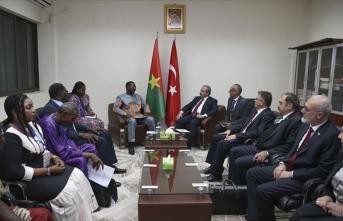TBMM Başkanı Şentop Cibuti'de
