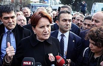 Akşener, Kanal İstanbul Projesi ÇED Raporu'na itiraz dilekçesi verdi