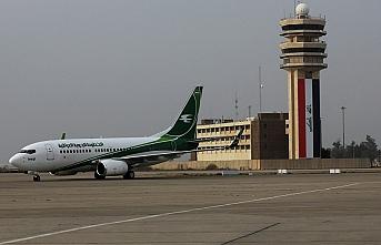 Bağdat'ta ABD askerlerinin bulunduğu havalimanı yakınına saldırı