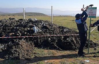 Bursa'da araziye dökülen kimyasal atık imha edilecek