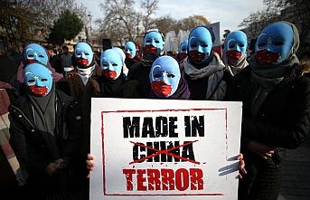 İHH'nın çağrısına tüm şehirlerden 'Sessiz çığlık'la Doğu Türkistan'a destek verildi