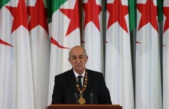 Cezayir'in yeni Cumhurbaşkanı'ndan 'Anayasa değişikliği' vurgusu