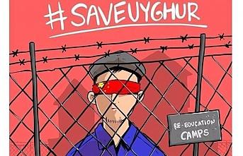 Çin'deki Uygur Türkleri için Ses Çıkar #SaveUyghur