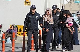 Edirne'de 206 göçmen yakalandı