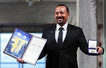 Eritre ile barışı sağlayan Etiyopya Başbakanı Abiy Ahmed Nobel barış ödülünü aldı