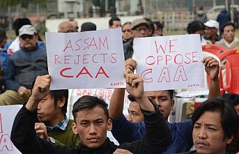 Görünüşte laik uygulamada faşist Hindistan'da vatandaşlık yasası karşıtı gösteriler devam ediyor