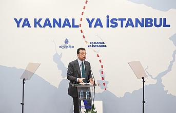 İBB Başkanı İmamoğlu, Kanal İstanbul'a karşı çıkış nedenlerini anlattı