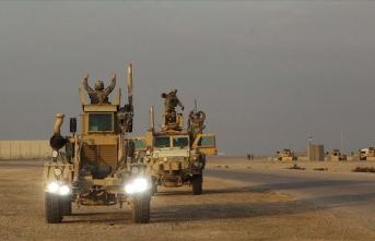 Irak'ta ABD'li askerlerin bulunduğu üsse 5 roket atıldı