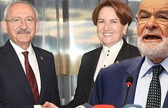 Kılıçdaroğlu Akşener ve Karamollaoğlu'na gitti
