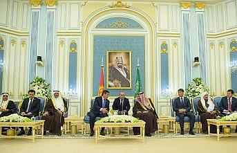 Kırgız lider Suudi Arabistan'da