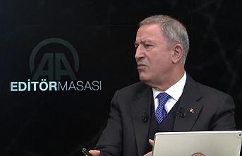 Milli Savunma Bakanı Akardan kimyasal silah iddialarına cevap
