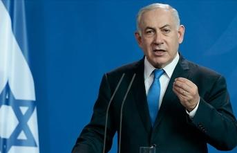 Netanyahu roket sirenleri nedeniyle mitingine ara verdi