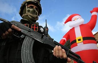 Noel Yok: Iraklı Hristiyanlar protesto gösterileriyle dayanışma için kutlamalarını iptal ettiler