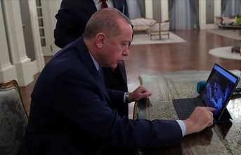 Oyunu kullandı! İşte Erdoğan'ın seçtiği fotoğraflar