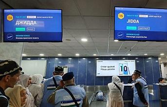 Özbekistan'dan Suudi Arabistan'a uçuş sayısı iki katına çıktı
