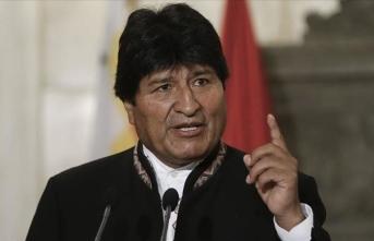'Özgür ve egemen bir Bolivya için mücadeleye devam edeceğim'