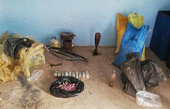Rasulayn'da EYP yapımında kullanılan malzemeler imha edildi