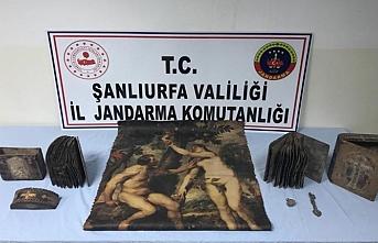 Şanlıurfa'da Roma dönemine ait eserler kaçırılmadan yakalandı