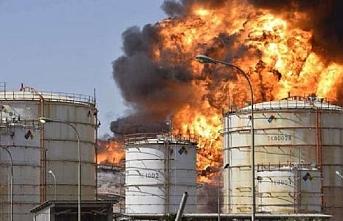 Suriye'de petrol ve doğal gaz tesislerine İHA saldırısı