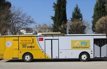 Tel Abyad'da Mobil PTT şubesi açıldı