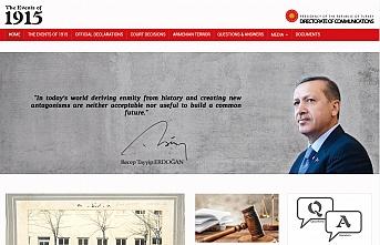 Türkiye iftiralara böyle cevap verecek: 1915.gov.tr