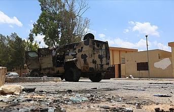 UMH kuvvetleri Trablus'ta Hafter'in yabancı milislerini bombaladı