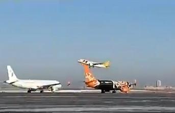 Uzun bir aradan sonra Sudan'a ilk uçak Kiev'den kalktı