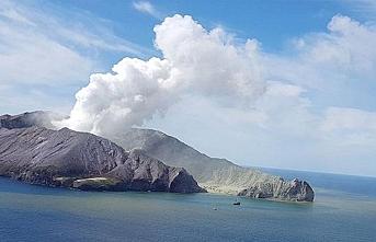 Yeni Zelanda'da yanardağ patlamasında hayatını kaybedenlerin sayısı yükseliyor