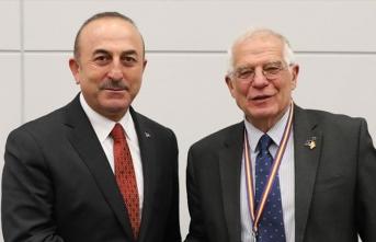 AB Yüksek Temsilcisi Borrell telefonda Dışişleri Bakanı Çavuşoğlu'na taziyelerini bildirdi