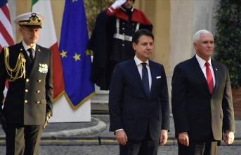 ABD Başkan Yardımcısı Pence Roma'da