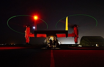 ABD helikopterleri füze saldırısının ardından Bağdat'taki Büyükelçilik kompleksine indi