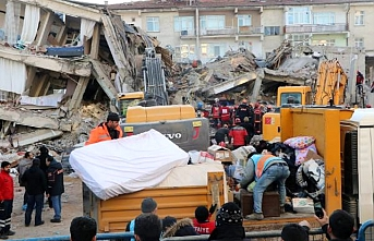 Elazığ'da can kaybı 38'e yükseldi