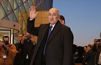 Cezayir Cumhurbaşkanı Tebbun: Bölge büyük jeopolitik manevralara sahne oluyor