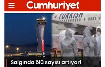Cumhuriyet Gazetesi'nden vatana ihanet