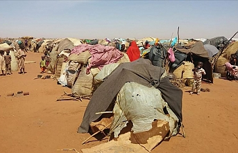 Darfur'daki çatışmalar nedeniyle 5 bin kişi Çad'a sığındı