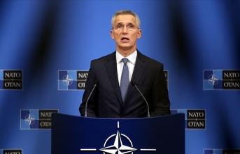 Düşen uçakla ilgili bir açıklama da NATO'dan