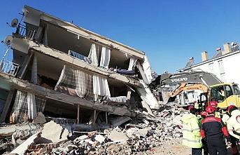 Elazığ'da 5 katlı bina yıkılacak